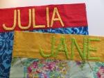 pillowcases for Julia & Jane