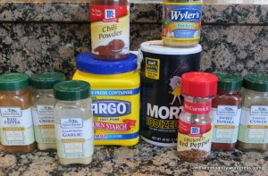 spices for fajita mix