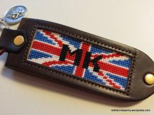 MK's keychain