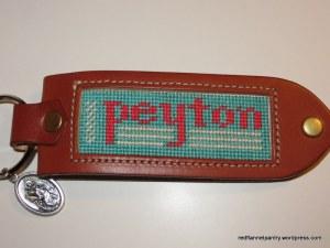 peyton keychain