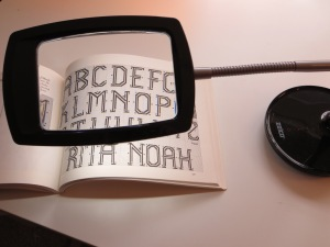 LED light/magnifier