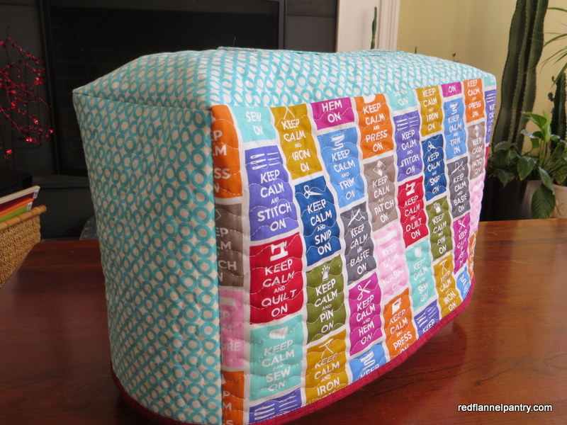 Venus and a sewing machine cover | red flannel pantry